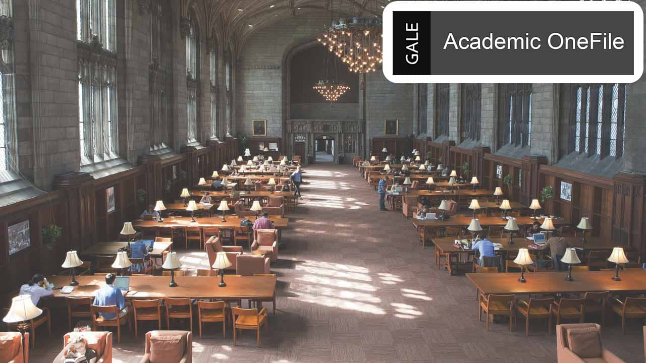 Academic OneFile – Access to Millions of Scholarly Articles